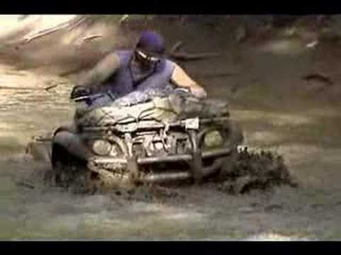 YAMAHA GRIZZLY 660 MUDDING (OTHERS DIDNT MAKE IT)