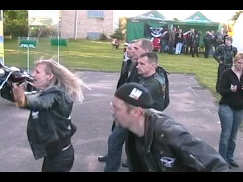 Biker Nights & Suzuki Savage Club - Lithuania 2010.05.29.avi