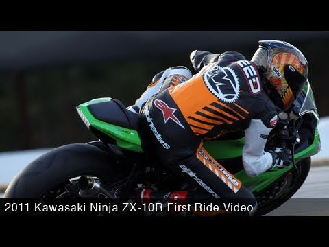 MotoUSA 2011 Kawasaki Ninja ZX-10R First Ride