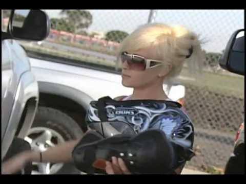 Motorcycle Stunt Girls