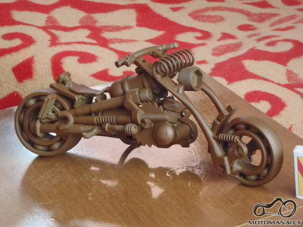 III vieta - motociklas - Aut. Milžinas kk