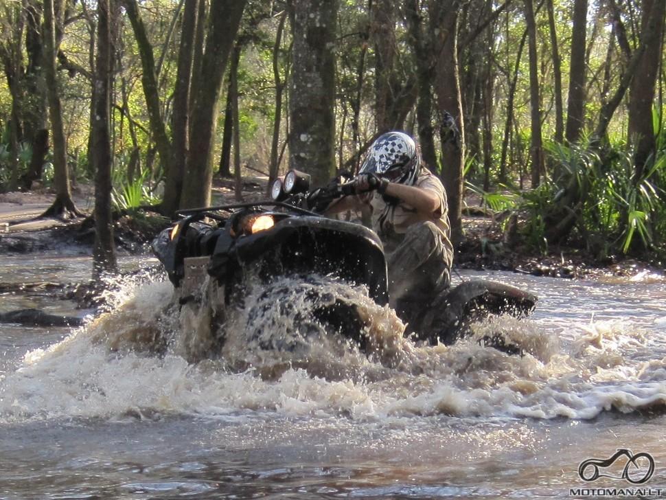 ATV pasivažinėjimai Floridoje