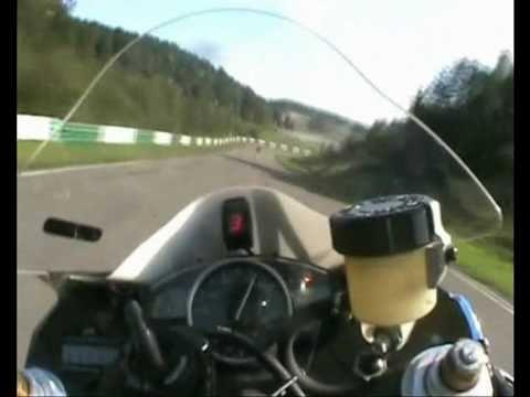 Tor Nemuno Ziedas. Yamaha R6 onboard.