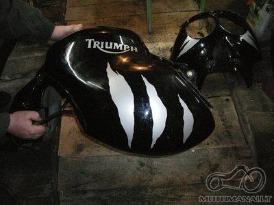Motociklų, originalių, race ir individualių lipdukų gamyba