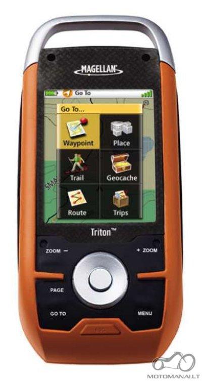 Prekyba GPS navigaciniais prietaisais.