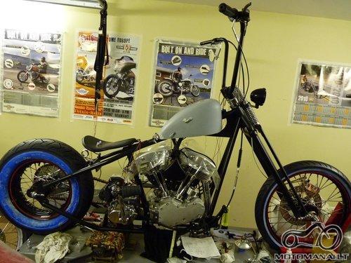 Motociklų tuningas Klaipėdoje