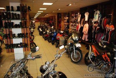 Prekyba motociklais Vilniuje